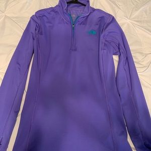 The North Face 1/2 zip shirt